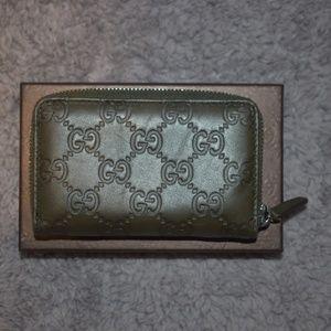 Gucci Zip Card Case